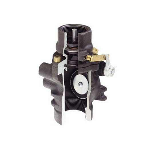 OPW 10BHMP-5830 Emergency Valve Combo, Low Profile with Poppet and Male Threaded, 1-1/2''