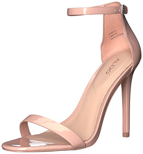 ALDO Women's Polesia Dress Sandal, Light Pink, 6 B US