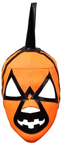 Halloween Pumpkin Lycra Lucha Libre Luchador Wrestling Masks Adult Size -