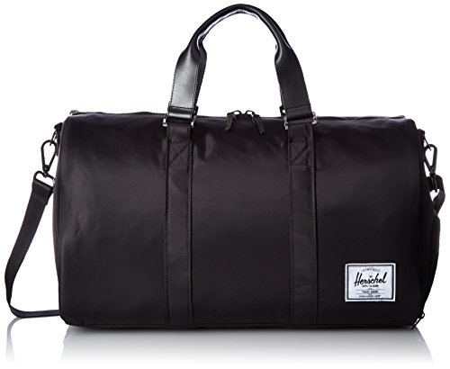 Borsone Hershel Supply Co. Novel Aspect Duffle in tessuto verde schwarz, schwarz