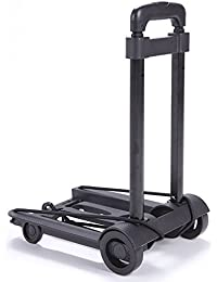 Collapsible Folding Portable Wheelie Travel Luggage Trolley Cart
