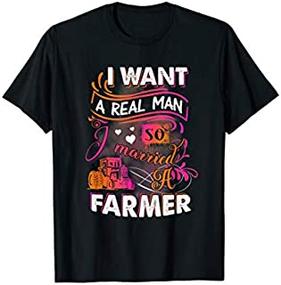 [Featured] Farmer I Want A Real Man So I Married It Farmer in ALL styles | Size S - 5XL