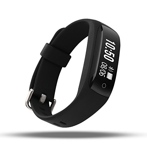 AOKII Heart Rate Monitor,Wirless Fitness Tracker,Sport Wristband with Multi-Functions Activity