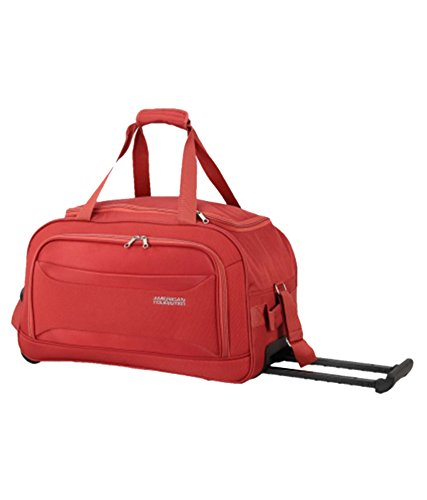 American Tourister Polyester 55 cms Burnt Red Travel Duffle  (at MIDASCORE-DUF55-RED)  Amazon.in  Bags b2904d21f5388