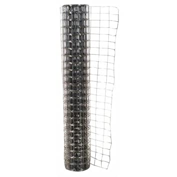 Jackson Wire 10152514 Galvanized Welded Fire Fence, 36\