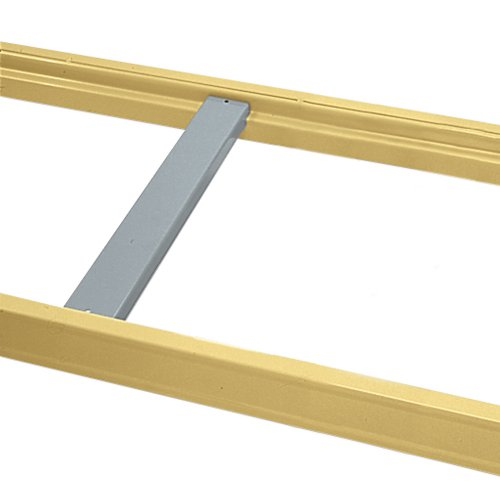 "Skid Supports For Pallet Rack, For Plywood/Particleboard, For 7/8"" Step, Fits 36""D Frame"