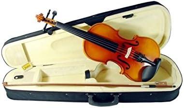 MERCADOT Violin 4/4 Estuche Arco Profesional Accesorios Contrachapado