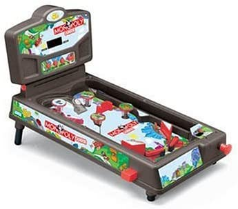 Terrific Buy Monopoly Jr Deluxe Tabletop Pinball Machine Online At Interior Design Ideas Gentotryabchikinfo