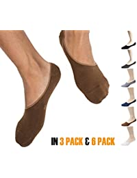 Thirty48 Men No Show Loafer Socks, Boat Shoe Liners with CoolPlus, Non-Slip