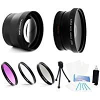 37mm hd 2.0x conveter lens+wide angle +3PC Filter for Melamount MM-IPADMINI
