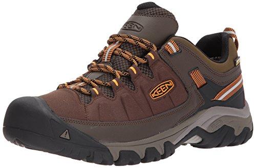 KEEN Men's Targhee exp wp-m Hiking Shoe, Cascade/Inca Gold, 10.5 M ()