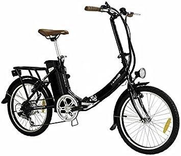 BASIC PRO - Bicicletas Electricas - Display LED con 3 niveles de ayuda - Plato delantero de 52 dientes (NEGRO): Amazon.es: Deportes y aire libre