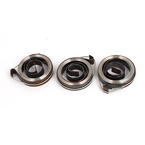 uxcell 8inch Length Metal Drill Press Quill Return Coil Spring Assembly 3Pcs by uxcell