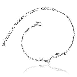 Selia Amore braccialetto bracciale scritta love arabo minimalista effetto amore Acciaio Inox Fatto a mano