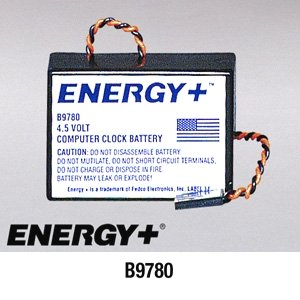 - FedCo Batteries Compatible with ENERGY B9780 Alkaline Battery Pack For Clock Memory Support