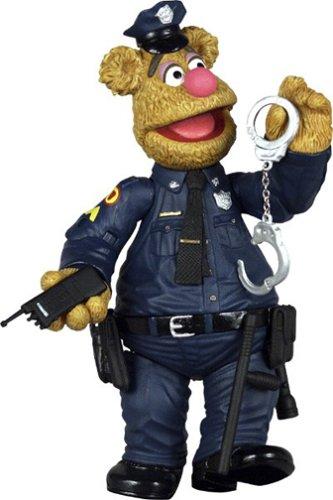 Muppet Show Series 6 Patrol Bear Fozzie Action Figure (Paul Patrol Games)