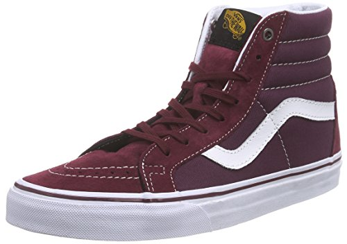 Vanssk8 rouge Pantofole Reissue port Unisex hi Adulto surplus Stivaletto port A Rosso Royale FFrwfT8nq