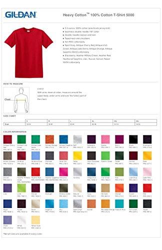 Gildan Heavy Cotton 100% Cotton T-Shirt-3XL (Antique Jade Dome)