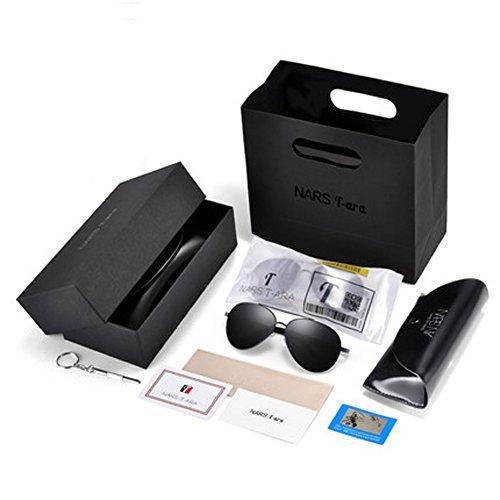 pour coréens verres pilote Hommes lunettes de de soleil hommes A soleil Miroirs de Lunettes miroir lunettes personnalisés polarisés conduite wwFqWPRt