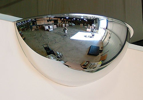 Half Dome Convex Mirror - Quality Product By See-All Industries- Half Dome Mirror 18