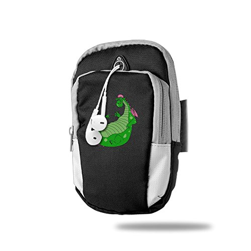 Creamfly Pete's Dragon Cute Armband Arm Bag Package For Sports Running For Iphone Samsung Galaxy Key Money