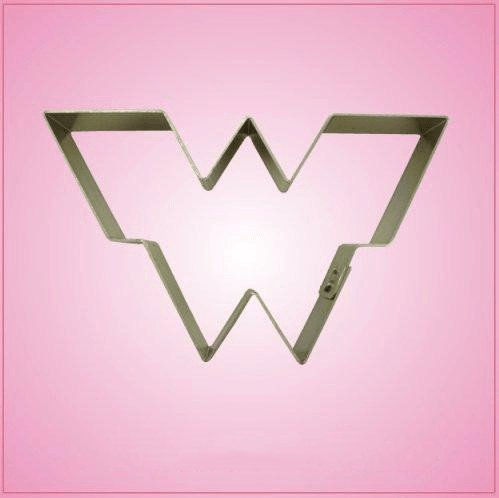 Woman Hero Cookie Cutter-aluminum-2-1/2 inches by 4-1/4 inches