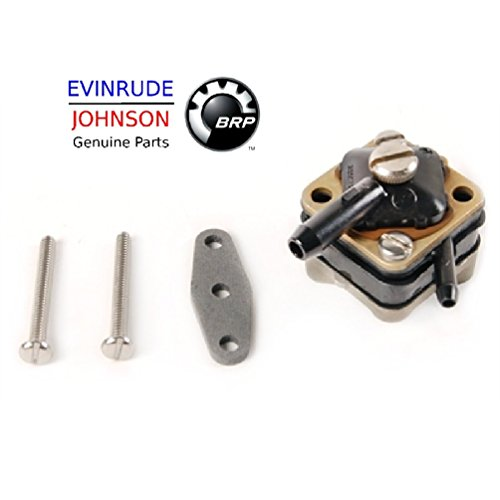 Johnson Evinrude Outboard Engine Part# 391667 Genuine Factory Replacement Fuel Pump BRP# 765637 - Hp Evinrude Factory
