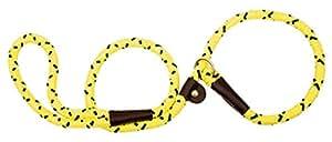 "Mendota Products Slip Lead,  1/2"" X 6', Hi-Viz Yellow, Dogs"