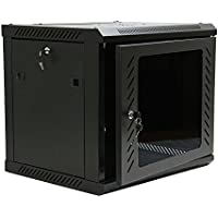 Z ZTDM Wall Mount Network Cabinet Server Rack IT Date Computer Enclosure Equipment Rack Cabinet with Cooling Fun (9U)