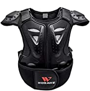 Children Bicycle Motorcycle Armor Vest Kids Chest Back Spine Protector Armor Back Protection Cycling Skiing Ri