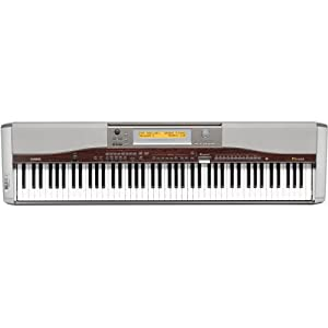 casio px 400r privia digital piano with 88 full size keys and grand piano touch. Black Bedroom Furniture Sets. Home Design Ideas