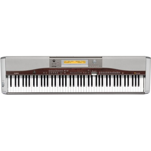 Casio PX-400R Privia Digital Piano with 88 Full-Size Keys and Grand Piano Touch (Stand Included)