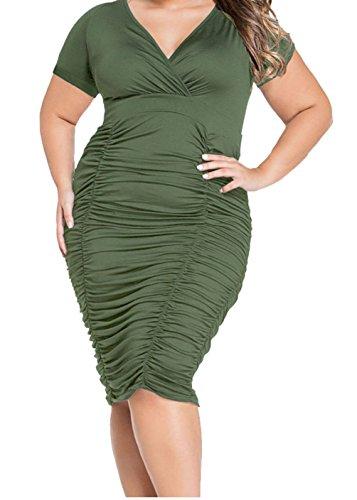 Buy belted cotton jacquard tulip dress - 6