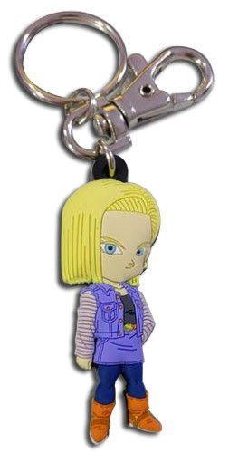 Dragon Ball Z: Chibi Android 18 PVC Key Chain by GE Animation