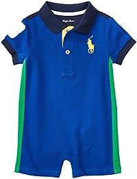 Polo Ralph Lauren Big Pony Infant Mesh Shortall