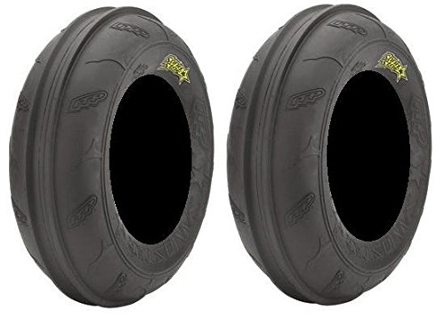 Pair of ITP Sand Star Front 21x7-10 (2ply) ATV Tires (2) by Powersports Bundle