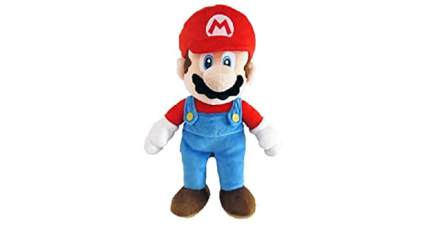 Amazon.com: Sanei - Super Mario Bros. Plush Figure Mario 25 cm: Toys & Games