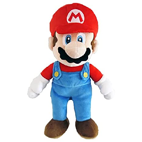 Sanei - Super Mario Bros. Plush Figure Mario 25 cm