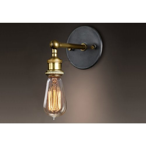 Ohr Lighting Edison Incandescent Light Bulb Vintage 40 Watt Amber Warm Dimmable Antique Squirrel Cage E26 Base 12 Pack by Ohr Lighting (Image #4)