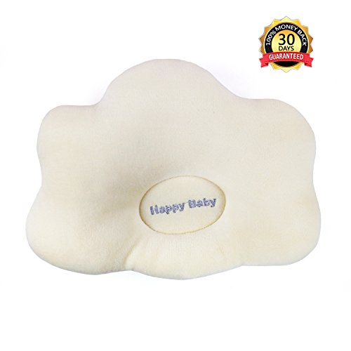 Baby Pillow Prevent Flat Head, Protective Pillow for Newborn and Infant by Zebrum (Cloud)