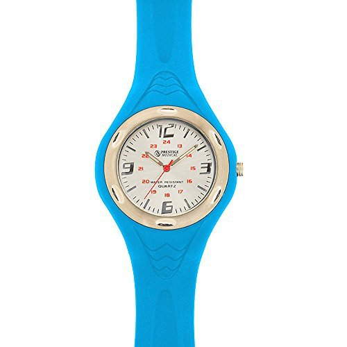 neon blue watch - 7