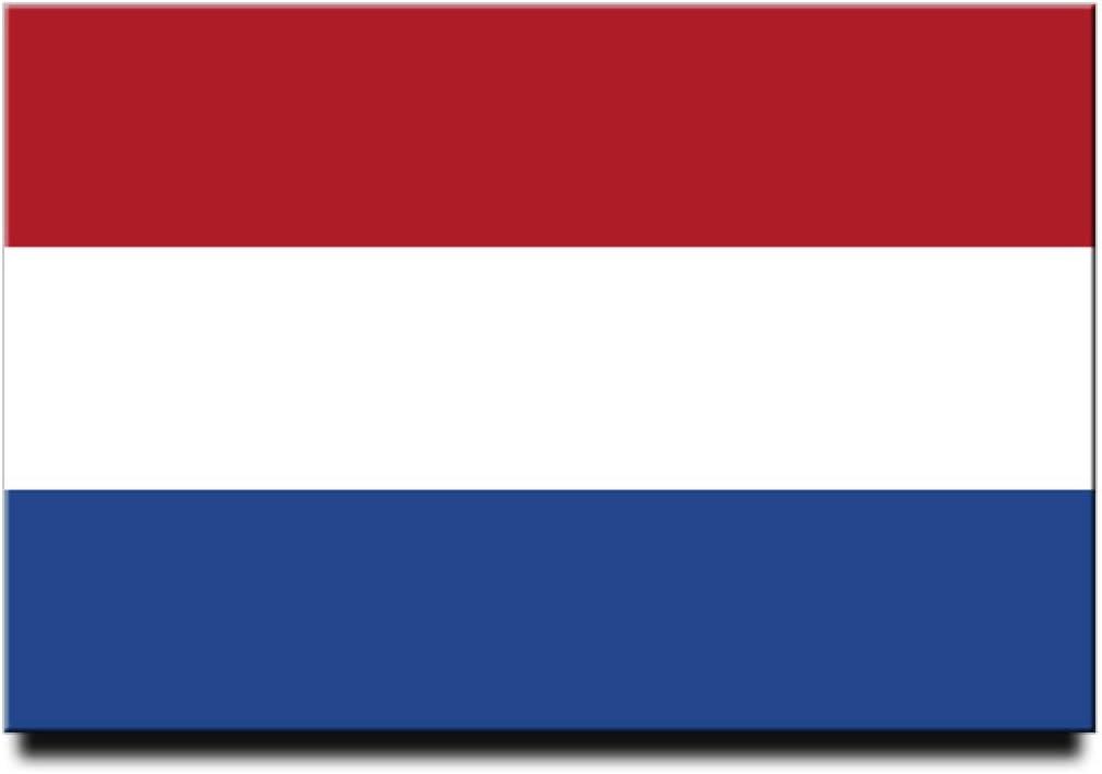 Netherlands Flag Fridge Magnet Amsterdam Travel Souvenir