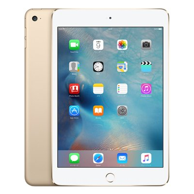 Apple iPad mini4 Wi-Fi 128GB ゴールド [MK9Q2J/A]