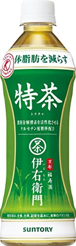 Suntory Iemon Tokucha 500mlPET 24 pieces 2 case [food for specified health use] by Iemon