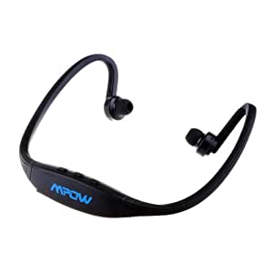 Patec® Wireless stereo Sports Music Headset Headphone for iPhone 4 4S 5 iPad iPod Samsung Galaxy S5 S4 S3 S2 S1 Note 2 3 - Handsfree Talking