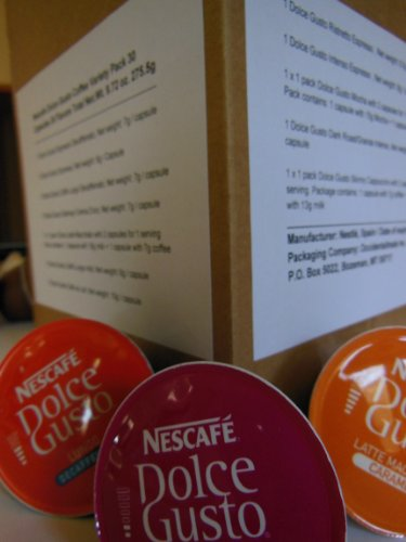 Nescafe Dolce Gusto Coffee Sampler - 30 Capsules