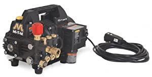 Mi-T-M CM-1400-0MEH Cold Water Electric Drive, 1.5 HP Motor, 120V, 13A, 1400 PSI Portable Pressure Washer