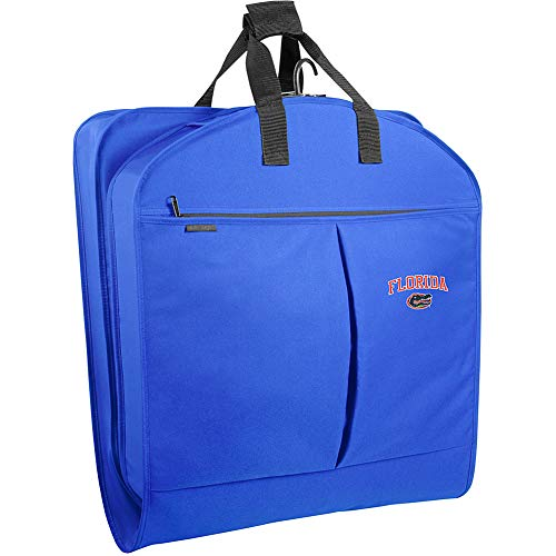(WallyBags Florida Gators 40 Inch Suit Length Garment Bag with Pockets, Royal Blue, One Size)