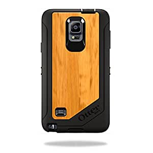 Mightyskins Protective Vinyl Skin Decal Cover for OtterBox Defender Galaxy Note 4 Case cover wrap sticker skins Birch Wood Grain