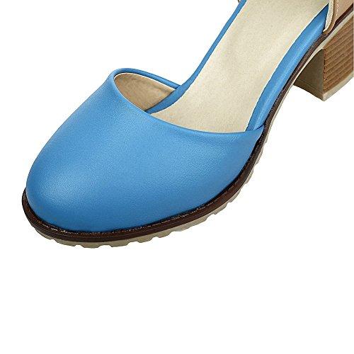 Mujer Cuña Con Sandalias 1to9 Azul 1nt6xxB7